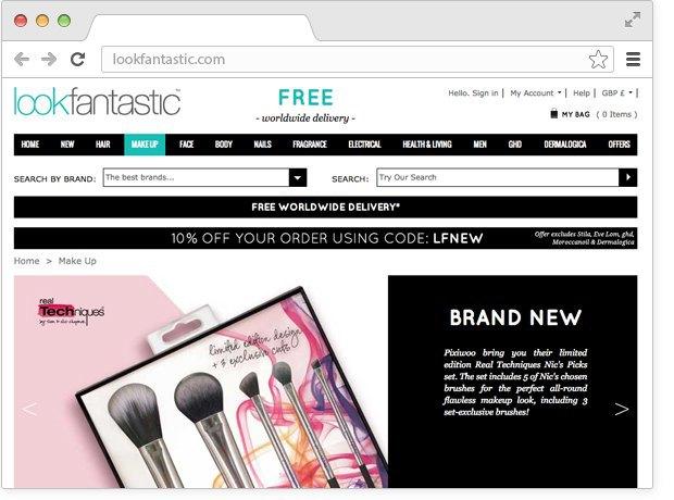 12 онлайн-магазинов косметики. Изображение № 4.