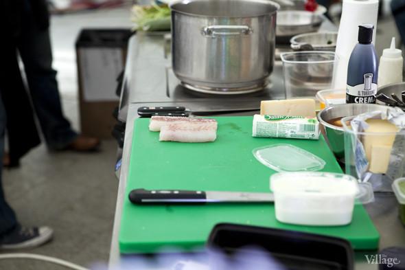 Omnivore Food Festival: Илья Шалев и Алексей Зимин готовят три блюда из редиса и черемши . Изображение № 38.