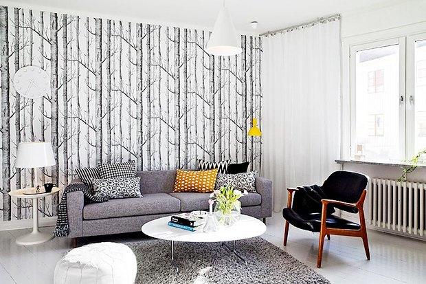 Как преобразить квартиру, переклеив обои. Изображение № 1.