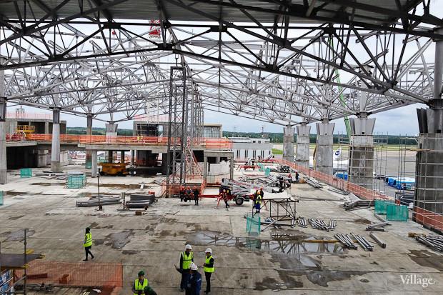 Фоторепортаж: Каким будет новый терминал Пулкова. Изображение № 30.