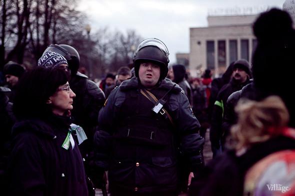 Фоторепортаж: Митинг против фальсификации выборов в Петербурге. Изображение № 32.