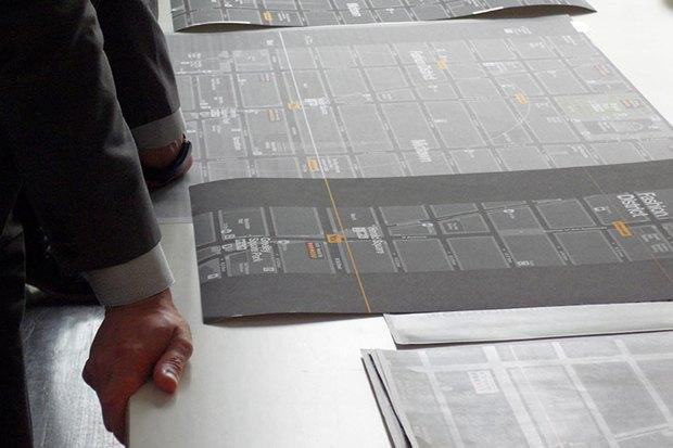 Система пешеходной навигации в Нью-Йорке Авторы: City ID, Pentagram, 2013 год. Изображение № 20.