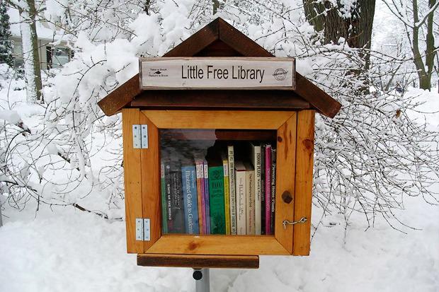 Идеи для города: Публичные библиотеки-скворечники. Изображение № 4.