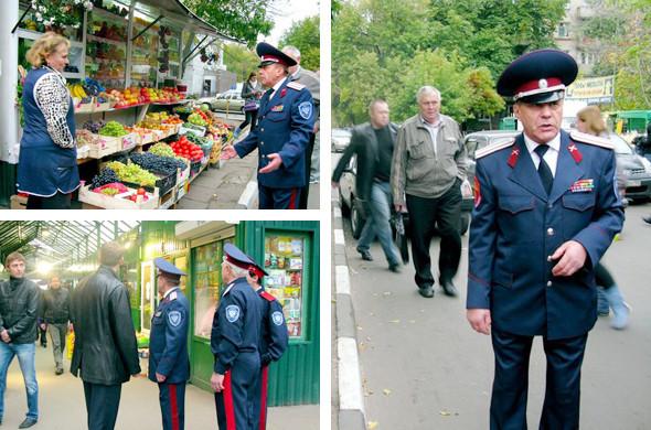 Воины ЮВАО: Казачий патруль на улицах Москвы. Изображение № 5.
