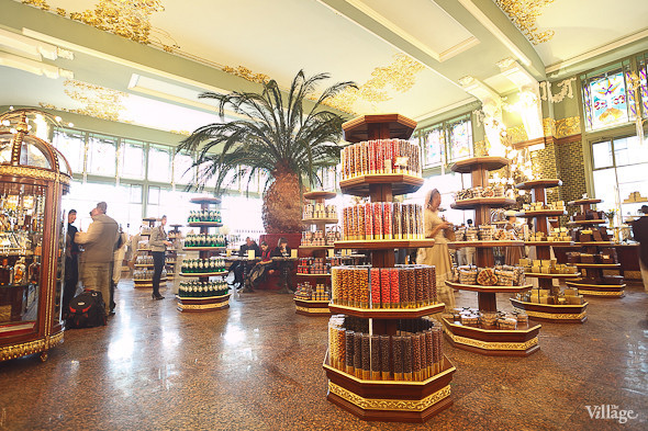 Фоторепортаж: Открытие отреставрированного «Елисеевского магазина». Изображение № 15.