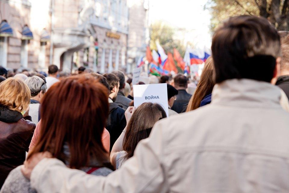 Участники и лозунги «Марша мира». Изображение № 5.