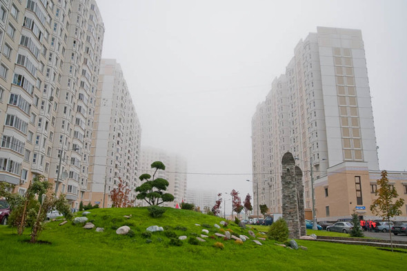 Улица Ахмата Кадырова в Южном Бутове. Изображение № 21.