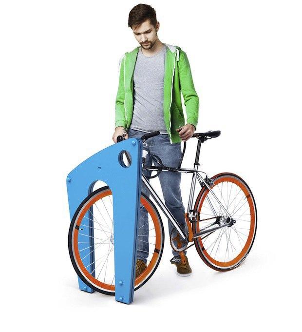 «Студия Лебедева» разработала дизайн велопарковок. Изображение № 3.
