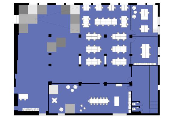 В «Этажах» открывается коворкинг площадью 700 кв. м. Изображение № 8.