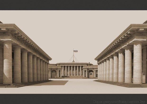 Проект квартала авторства «Архитектурной мастерской Максима Атаянца». Изображение № 3.