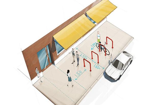 Где разместят 2000 велостоек. Изображение № 2.