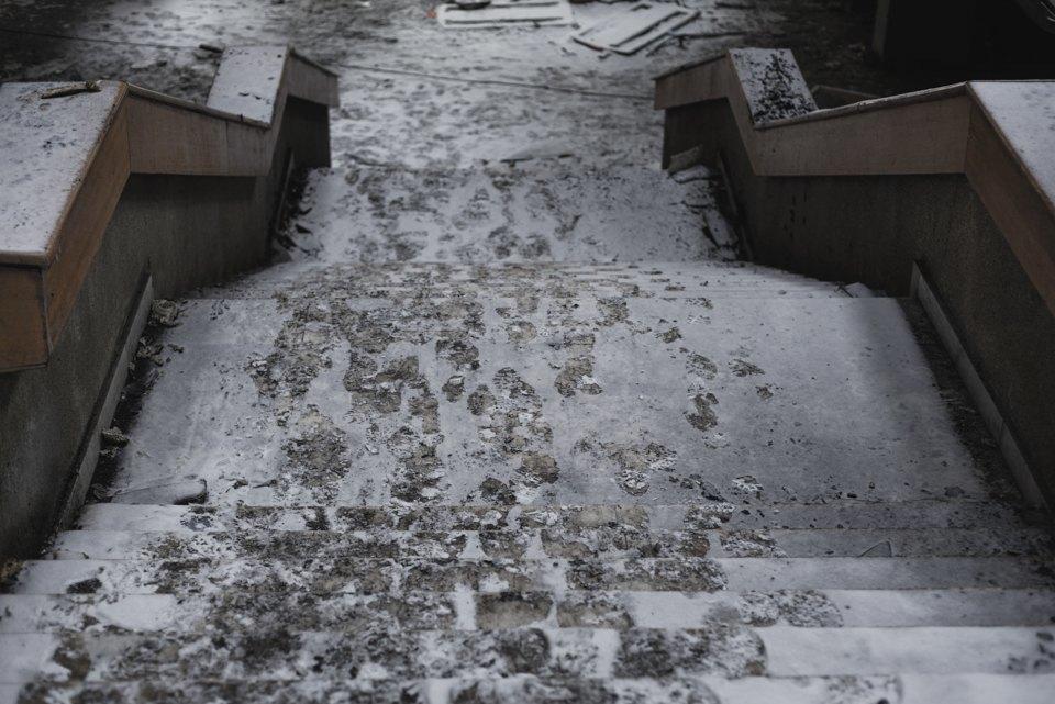 Как выглядит библиотека ИНИОН РАН через 9дней после пожара. Изображение № 11.