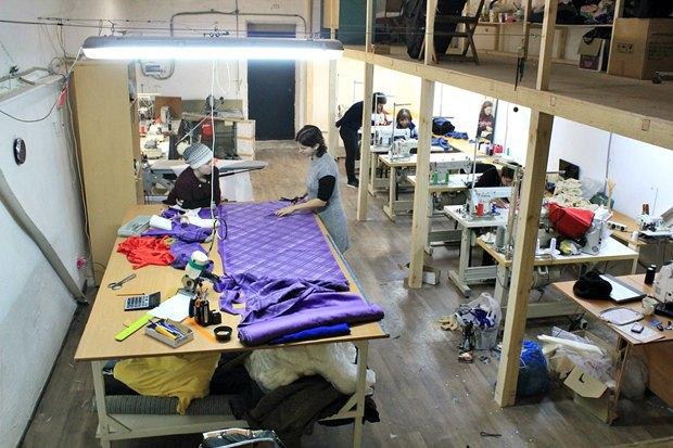 В кластере «Пальма» открылась швейная мастерская-коворкинг. Изображение № 1.