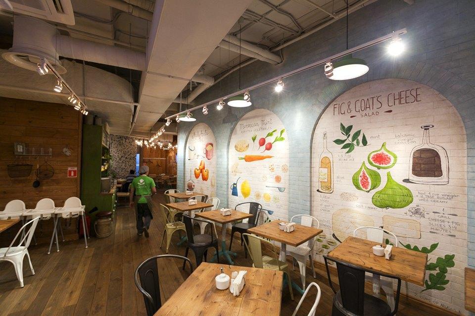 Ресторан самообслуживания ObedBufet . Изображение № 12.