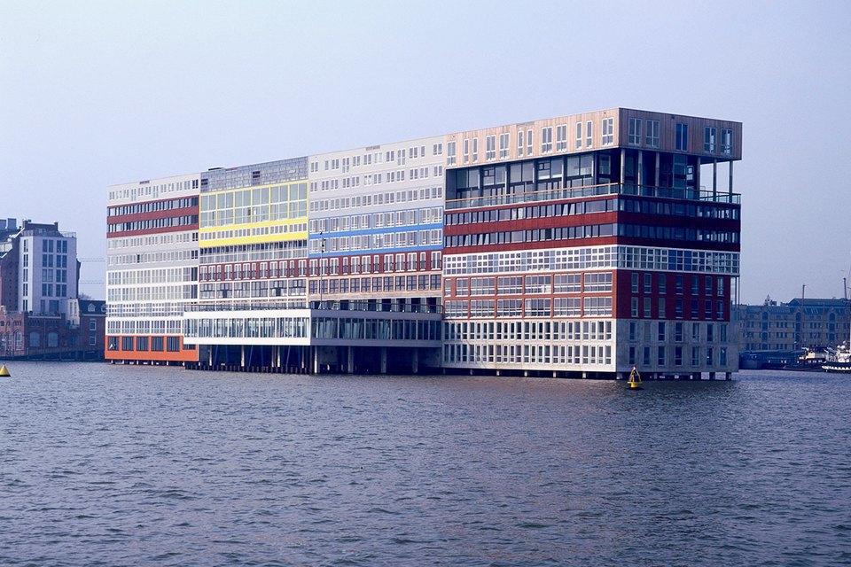 Остердокс, центр новой архитектуры Амстердама. Изображение № 18.