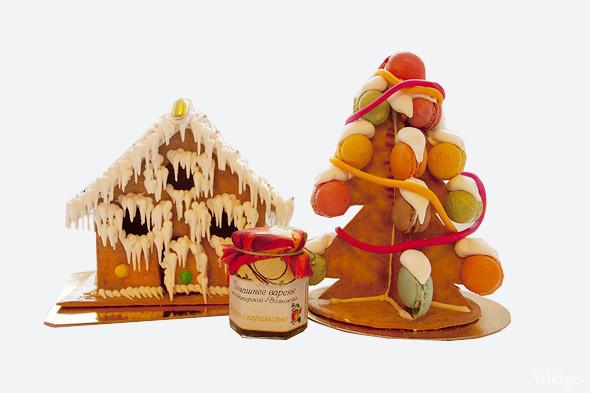 Сладкий Санта: Имбирные человечки и другие новогодние десерты навынос. Изображение № 17.