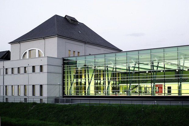 Дизайн от природы: Стекло-паутина и павильон — морской еж в Германии. Изображение № 3.