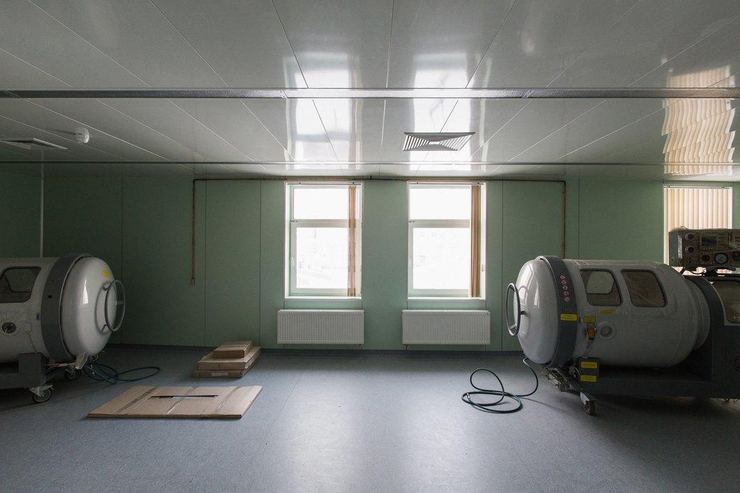 Как выглядит самая большая вРоссии инфекционная больница . Изображение № 10.