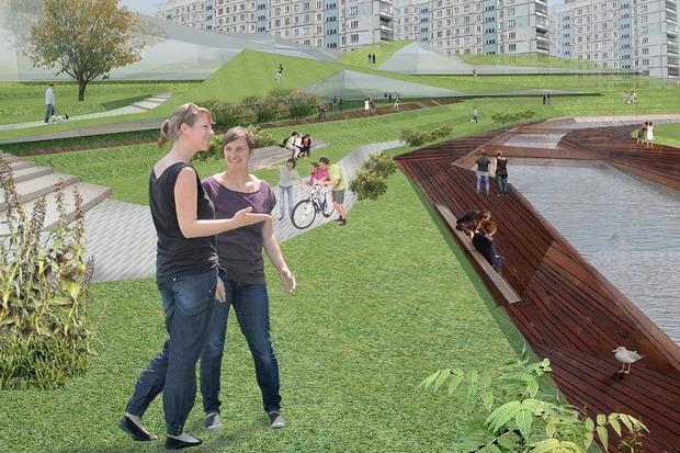 Для Петербурга разработали проекты эко отеля, банка и досугового центра. Изображение № 15.