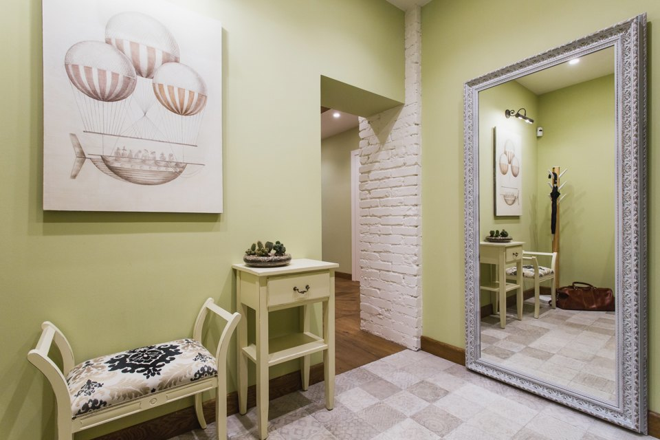 Квартира с декоративным камином для семьи сноворождённым . Изображение № 15.