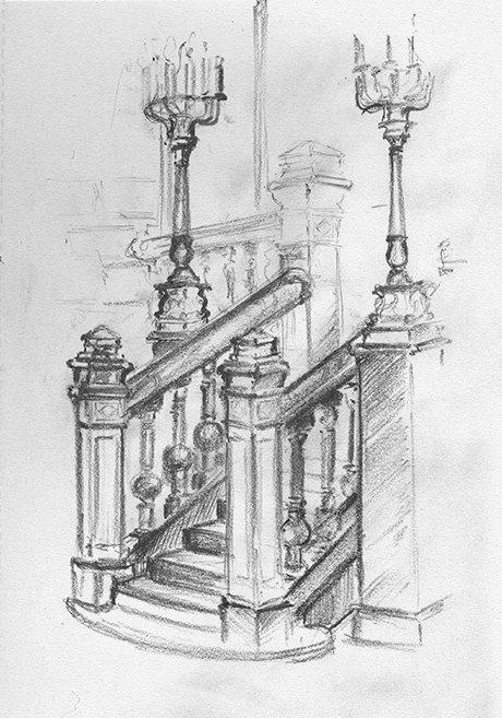 Клуб рисовальщиков: Особняк 1896 года. Изображение № 2.