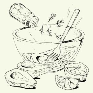 Мусс изавокадо скиноа исвёклой Кристиана Лоренцини. Изображение № 7.