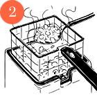 Пончики из креветок с соусом ремулад Сержа Труто. Изображение № 3.