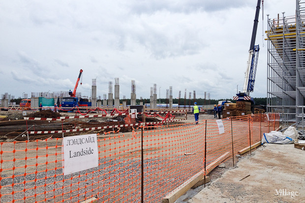 Фоторепортаж: Каким будет новый терминал Пулкова. Изображение № 12.