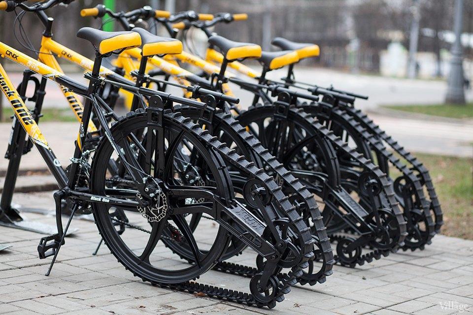 Фоторепортаж: Зимние велосипеды в «Сокольниках». Изображение № 4.