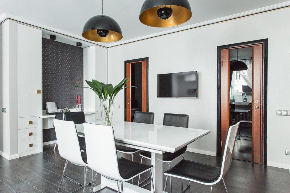 Трёхкомнатная квартира для большой семьи вВидном. Изображение № 2.