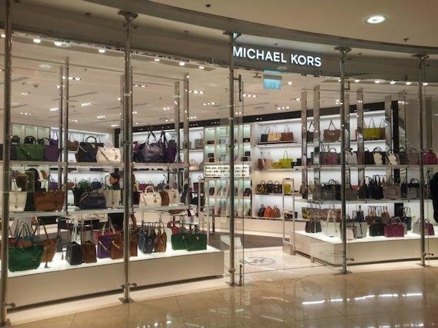 В «Европейском» открылся магазин одежды Michael Kors. Изображение № 1.