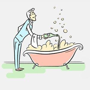 Почему русские не улыбаются,опасны ли ванны сшампанским и где съесть собаку?. Изображение № 2.