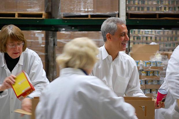 """Рам участвует в благотворительной акции """"Greater Chicago Food Depository"""". Изображение № 23."""