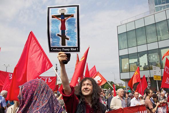 Фоторепортаж: «Марш миллионов». Изображение № 13.