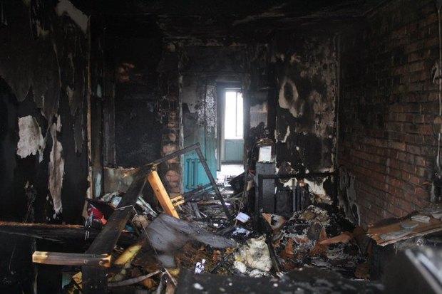 Пожар в общежитии академии Мечникова потушен. Изображение № 2.