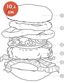 Между булок: что внутри у самых больших московских бургеров, часть 1. Изображение № 63.