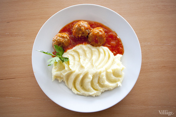 Как сделать простой соус картошки