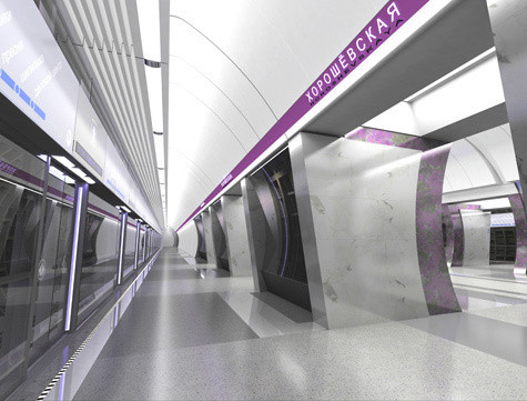 Изображение 3. Третий контур московского метро сделают непохожим на другие станции.. Изображение № 4.
