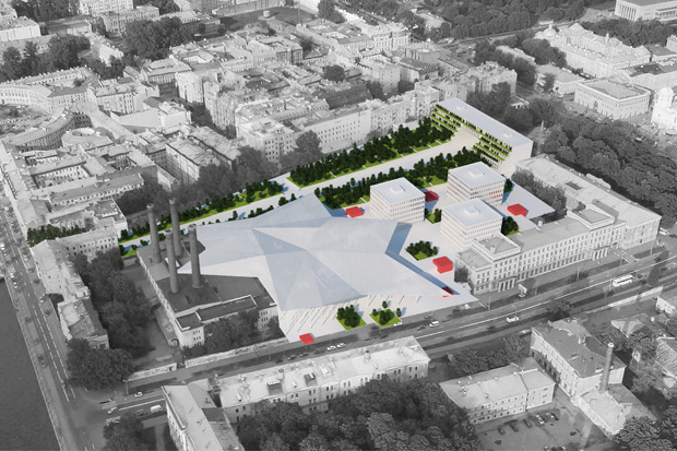 10 проектов квартала около Витебского вокзала . Изображение № 28.