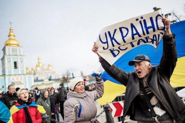 Курс — евро: Как уличные протесты изменили Киев. Изображение № 8.