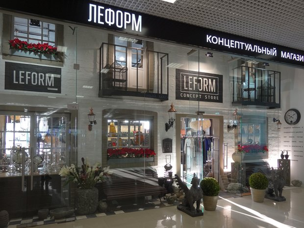 В подмосковном торговом центре открылся Leform. Изображение № 1.