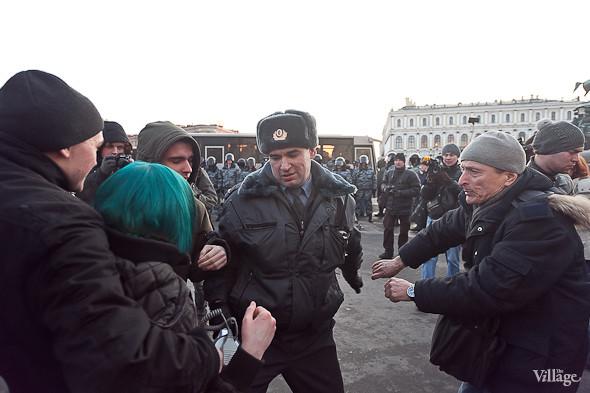 Фоторепортаж: Митинг 5 марта на Исаакиевской площади. Изображение № 14.