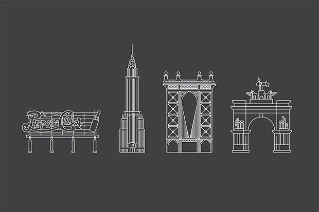Система пешеходной навигации в Нью-Йорке Авторы: City ID, Pentagram, T-Kartor, 2013 год. Изображение № 17.