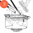 Рецепты шефов: Олхори долма (фаршированная слива). Изображение № 5.