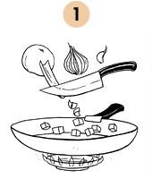Рецепты шефов: Ножка кролика, тушеная с грибами. Изображение № 4.