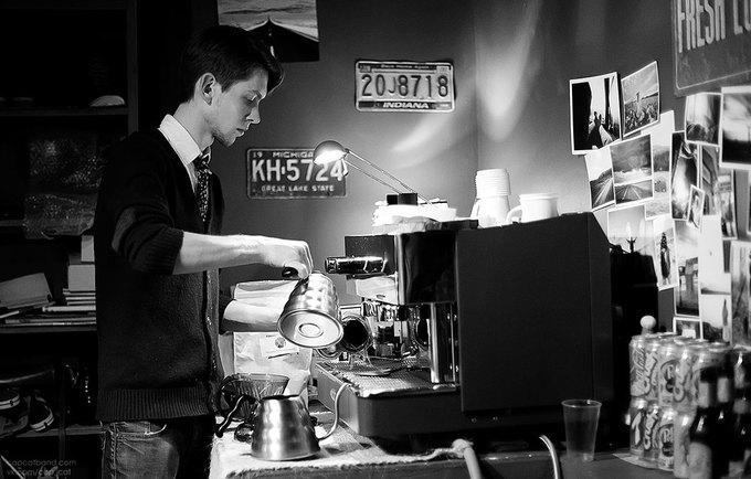 На Фурштатской открылась кофе-станция Impress  . Изображение № 1.