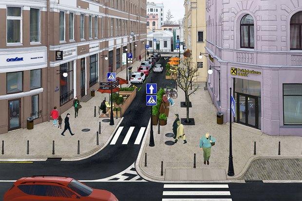 Предложение дня: Реконструкция Банковского переулка. Изображение № 1.