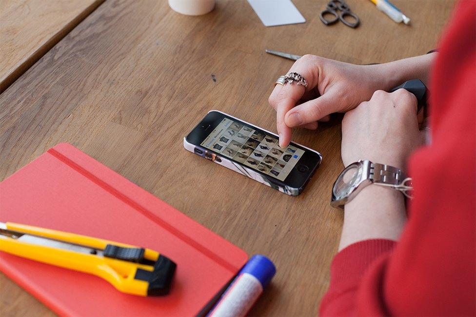 Смартфон vs. Компьютер:  Что нужнее в работе дизайнера коллажей. Изображение № 4.