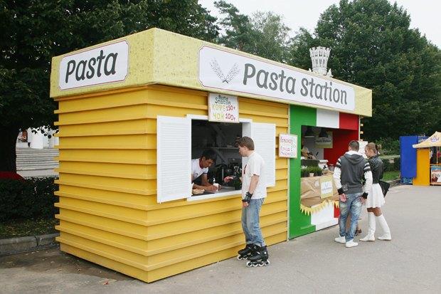На ВВЦ открылся киоск Pasta Station. Изображение № 1.