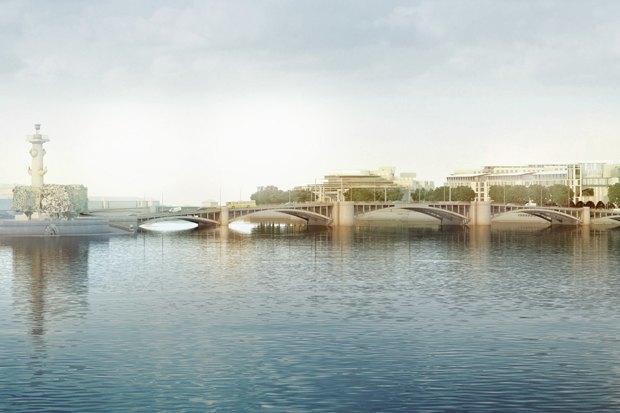 Суд идёт: четыре проекта квартала на месте «Набережной Европы». Изображение № 14.